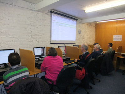 Beginners Computer Class At Tallow Computer Training Centre
